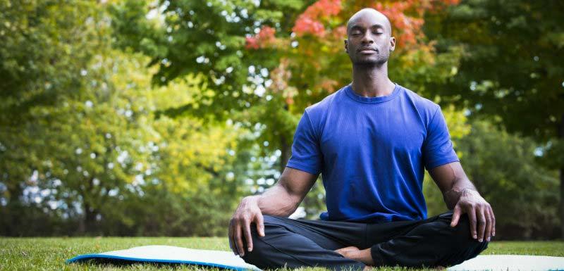 meditation, respiration, calme, paix intérieure, mental, santé, bien-être